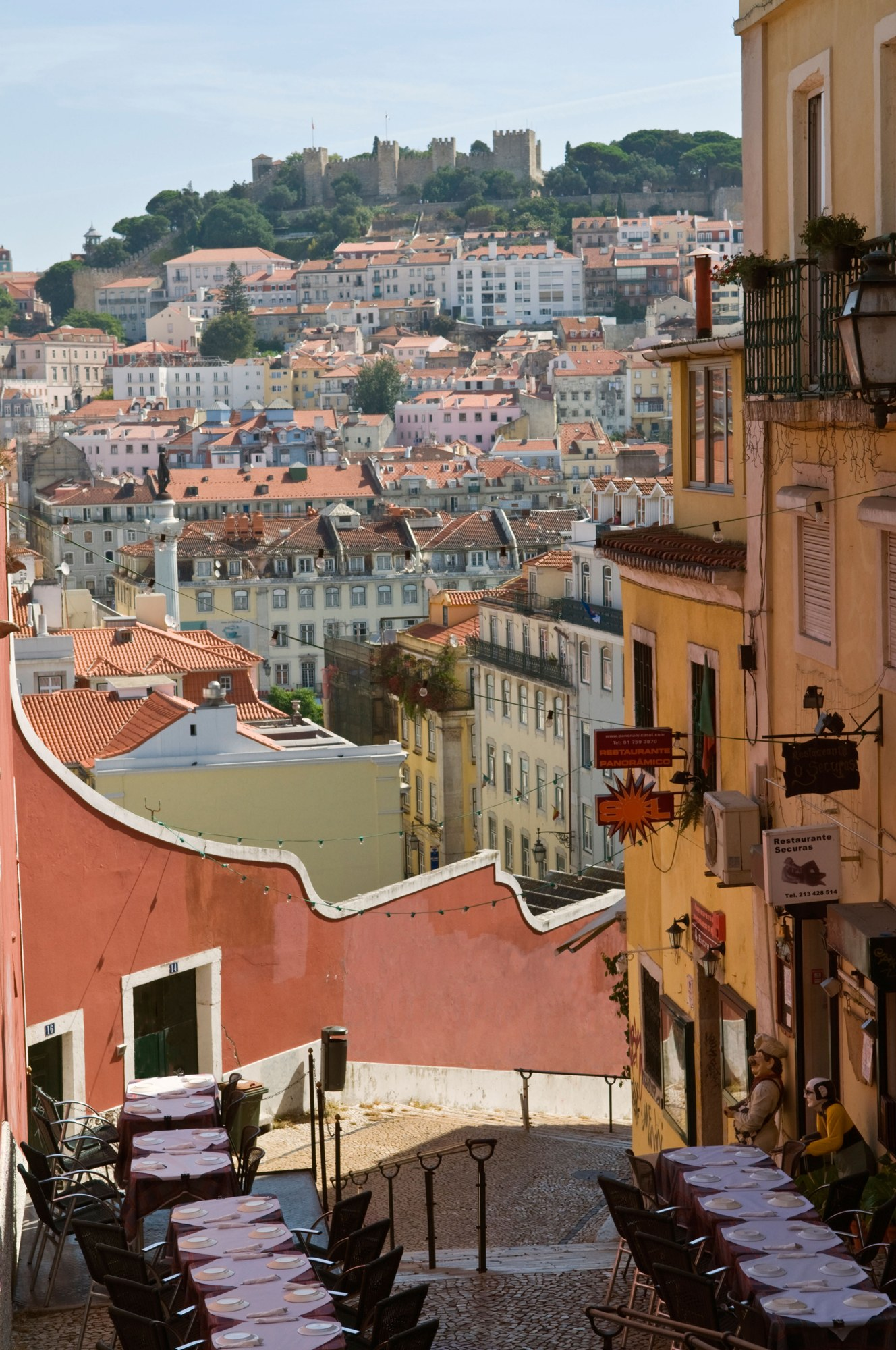 Blindness and Bacalhau in Lisbon